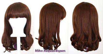 Miho - Auburn Brown