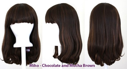Miho - Chocolate and Mocha Brown Blend