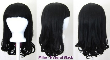 Miho - Natural Black