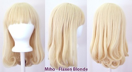 Miho - Flaxen Blonde