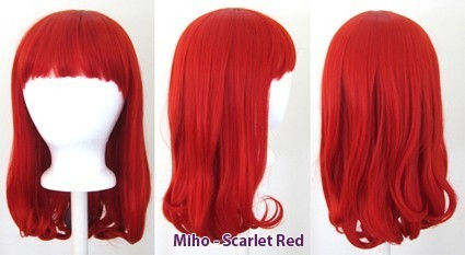 Miho - Scarlet Red