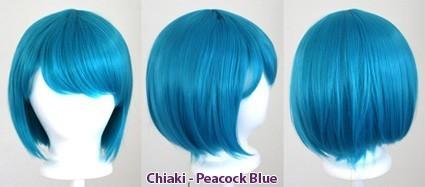 Chiaki - Peacock Blue
