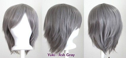 Yuki - Ash Gray