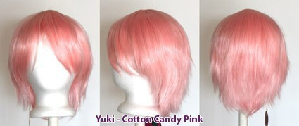 Yuki - Cotton Candy Pink