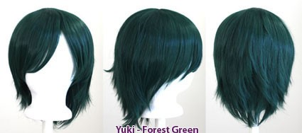 Yuki - Forest Green