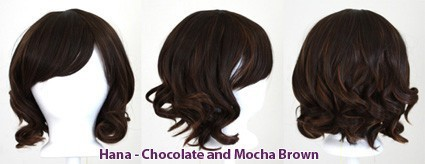 Hana - Chocolate and Mocha Brown Blend