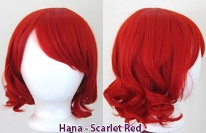 Hana - Scarlet Red