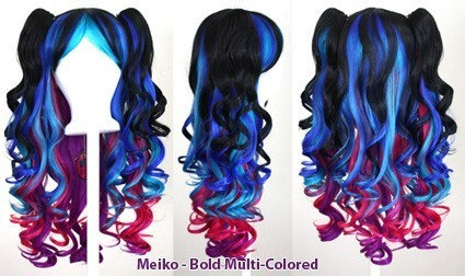 Meiko - Bold Multi-Colored Mixed Blend