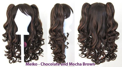 Meiko - Chocolate and Mocha Brown Mixed Blend