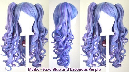 Meiko - Saxe Blue and Lavender Purple Mixed Blend