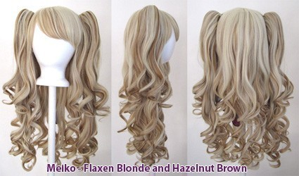 Meiko - Flaxen Blonde and Hazelnut Brown Mixed Blend