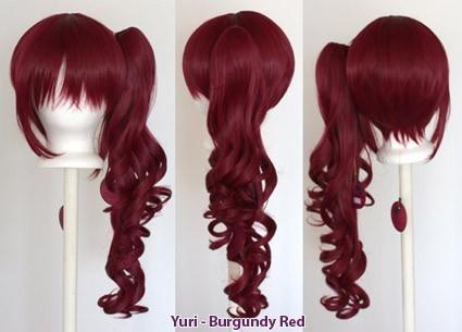 Yuri - Burgundy Red