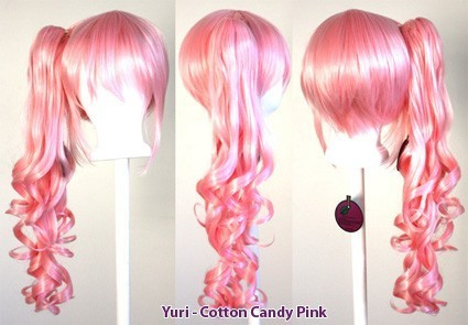 Yuri - Cotton Candy Pink