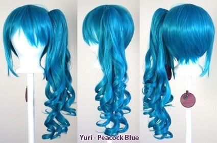 Yuri - Peacock Blue