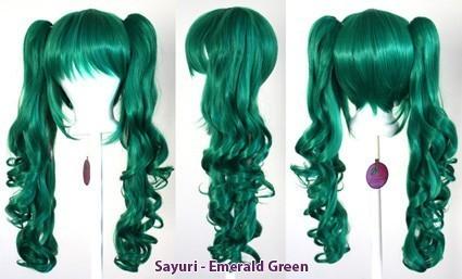 Sayuri - Emerald Green