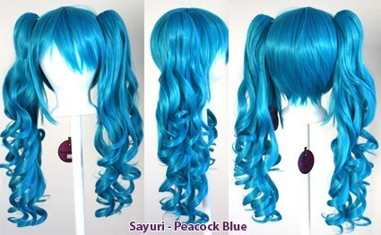 Sayuri - Peacock Blue