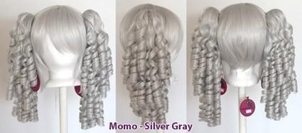 Momo - Silver Gray