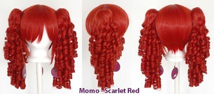 Momo - Scarlet Red