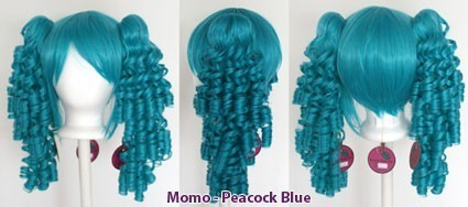 Momo - Peacock Blue
