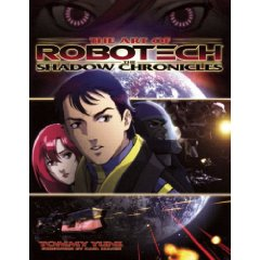 Robotech / Macross Shadow Chronicles English Art Book