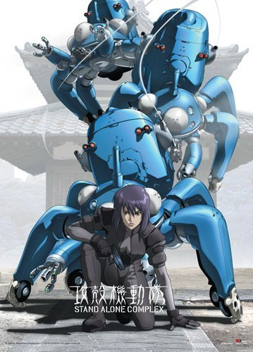 Ghost in the Shell Wall Scroll