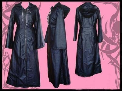 Kingdom Hearts Organization XIII Cloak Costume