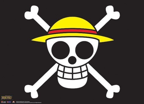 One Piece Luffy Pirates Flag