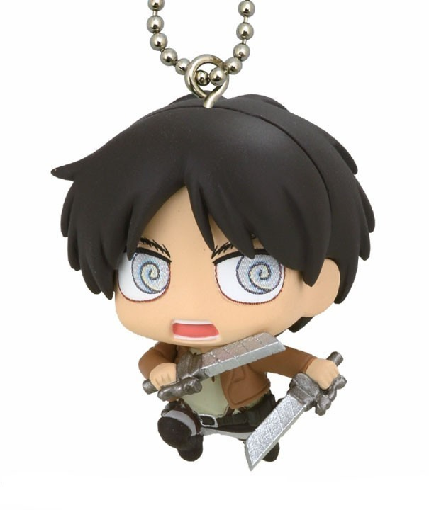Attack on Titan Eren Mascot Key Chain
