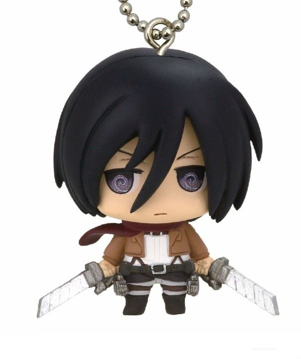 Attack on Titan Mikasa Mascot Key Chain