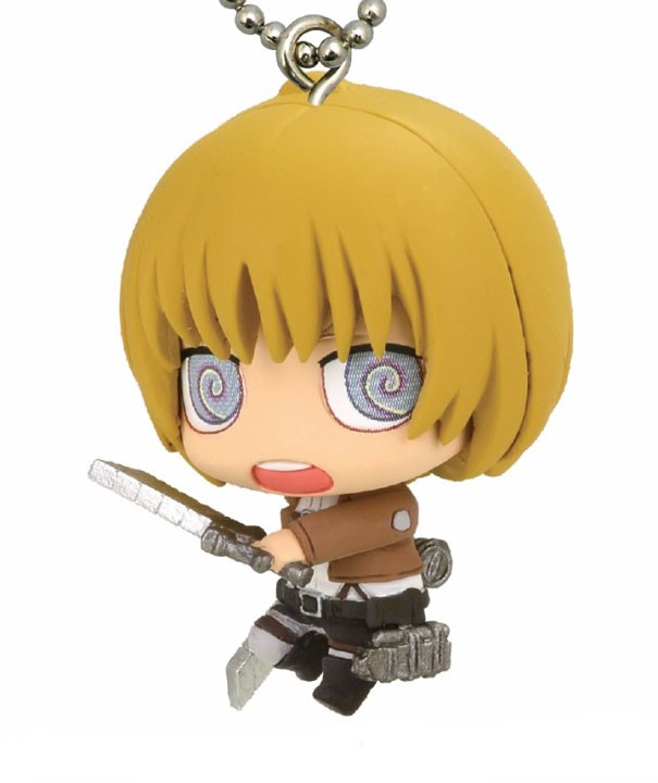Attack on Titan Armin Mascot Key Chain