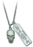 Death Note Skull Necklace