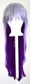 Haku - Fade Silver Gray to Indigo Purple