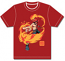 One Piece Ace T-Shirt Red Men's