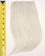 Long Bangs - Silver Gray