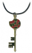 Blue Exorcist Shiemi's Key Cosplay Necklace