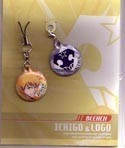 Bleach Phone Strap Ichigo & Logo