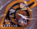 Naruto Sakura & Kakashi 3 Pin Set