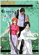 Bleach Chad, Orihime, Ishida Mini Notebook