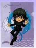 Kyou Kara Maou File Folder Maou Mini Clear File