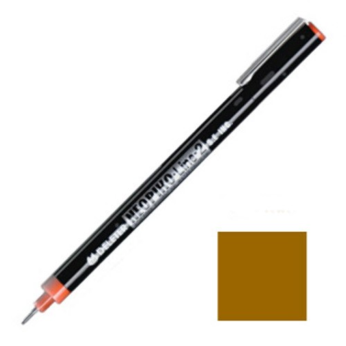 NEOPIKO-Line-2 Sepia Single Outline Pen Deleter