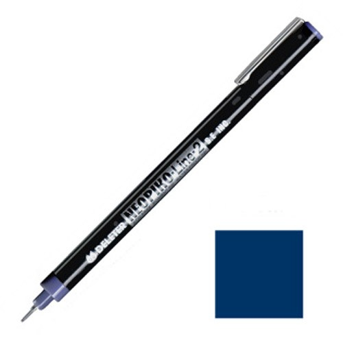 NEOPIKO-Line-2 Cobalt Single Outline Pen Deleter