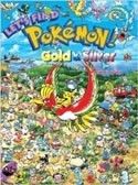 Pokemon Let's Find Gold and Silver English Picture Book