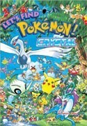 Pokemon Let's Find Crystal English Picture Book