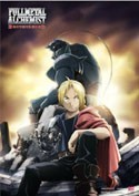 Fullmetal Alchemist Ed and Al EbiVibe Wall Scroll (27.8 x 19.7 inches)