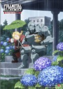 Fullmetal Alchemist Ed and Al In the Rain EbiVibe Wall Scroll (27.8 x 19.7 inches)