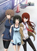 Stein's Gate Suzuha, Makise and Mayuri EbiVibe Wall Scroll (27.8 x 19.7 inches)