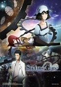 Stein's Gate Time and Space Group EbiVibe Wall Scroll (27.8 x 19.7 inches)