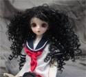 Doll Wig Mayumi - Natural Black