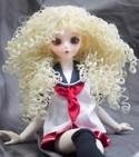 Doll Wig Mayumi - Flaxen Blond