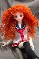 Doll Wig Mayumi - Autumn Orange